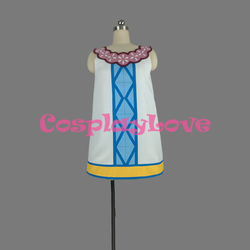 Fairy Tail: Dragon Cry Wendy Marvell Cosplay Costume High ...