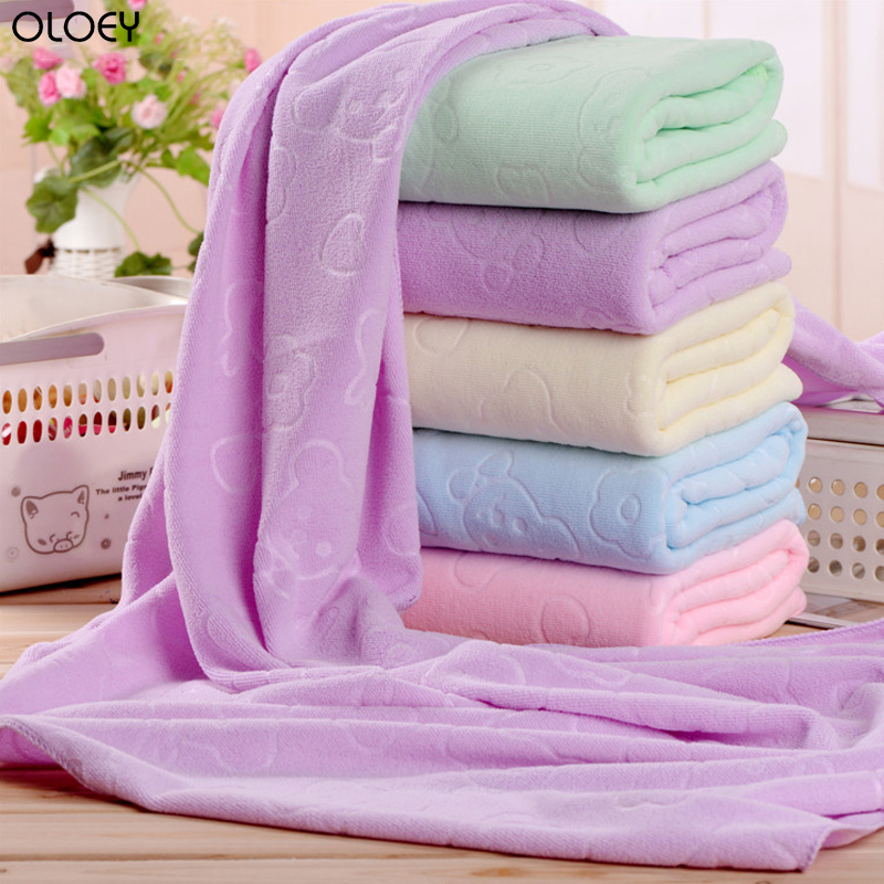 OLOEY Home or Hotel 70 X140cm Microfiber Absorbent Towel Soft Shower Towel Soft and Quick Dry Bath Towel Bath Towels for Adults