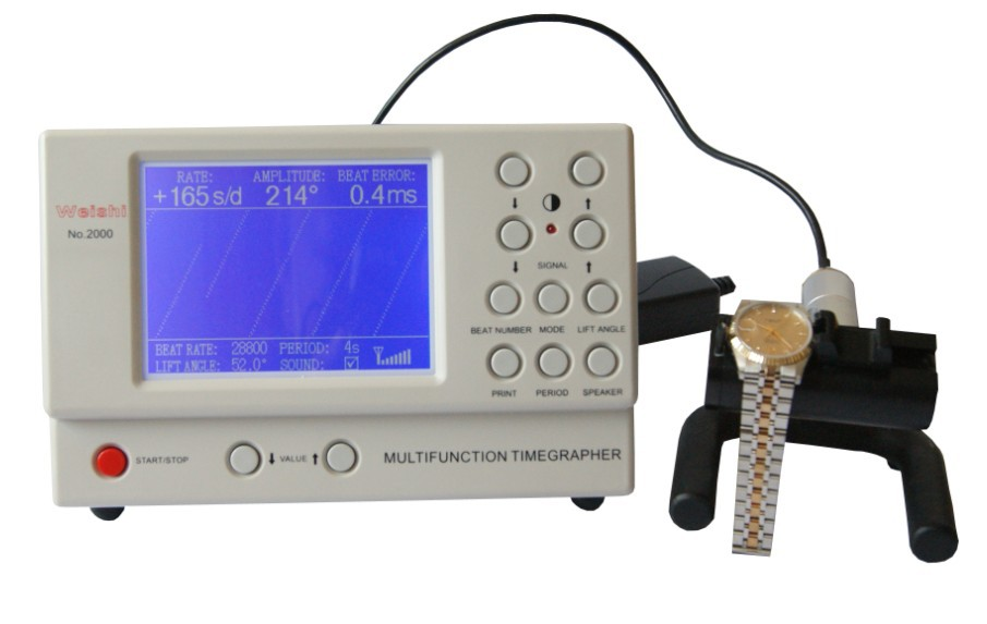 Watch Timing Machine Multifunction Timegrapher NO 2000 for rolex watch repairers watch hobbyists