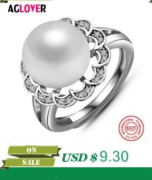HTB1NBModv6H8KJjSspmq6z2WXXah 925 Sterling Silver Rings Woman Fashion Simple Couple Matte Rings Charming Female Lovers Jewelry