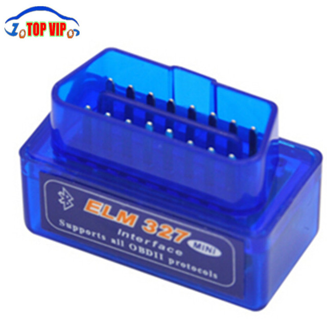 Top-rated V2.1 Super Mini ELM327 Bluetooth OBDii / OBD2 Wireless Mini ELM327 CANBUS Support All OBD2 Model Free Shipping