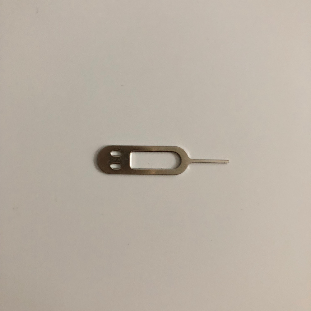 Used SIM Card Eject Pin Handling Needle For Umidigi S MTK Helio P20 Octa-Core 5.5 Inch 1920x1080 Free Shipping