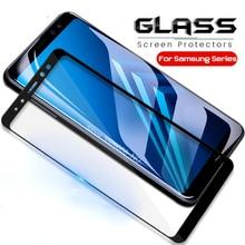 Защитное стекло для samsung a6plus a8plus Защитная пленка для экрана glas для samsung galaxy a6 a8 plus закаленная листовая пленка a 8