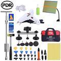 PDR Dent Pops для удаления автомобиля безболезненный Набор для ремонта авто Съемник Ding PDR (17 шт.) набор ручных инструментов для удаления