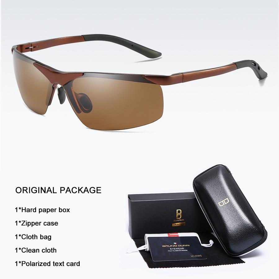 Bruno dunn 2020 Men Sunglasses Polarized uv400 high quality oculos de sol masculino oversized sunglases lunette soleil homme 14