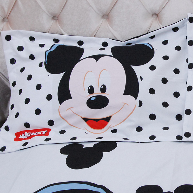 Boys Mickey Mouse Bedding Set