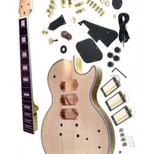 Черный пользовательский Электрогитара Комплект/незавершенная гитара/Diy электрогитара