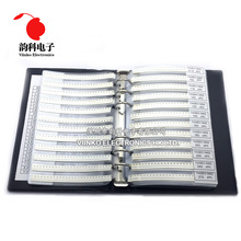 0402 SMD образец резистора книга 5% Допуск 170valuesx50 шт = 8500 шт Резистор Комплект 0R~ 10 м 0r-10м