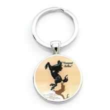 New Brand I Love Dressage Riding keychain fashion women men horse jump equestrian sports style key chain ring jewelry SP531(China)