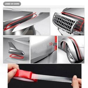 Image 3 - 3M długość przezroczysta taśma dwustronna naklejki samochodowe podwójna pianka obliczu taśma samoprzylepna Auto klej naklejki wielofunkcyjny do samochodu