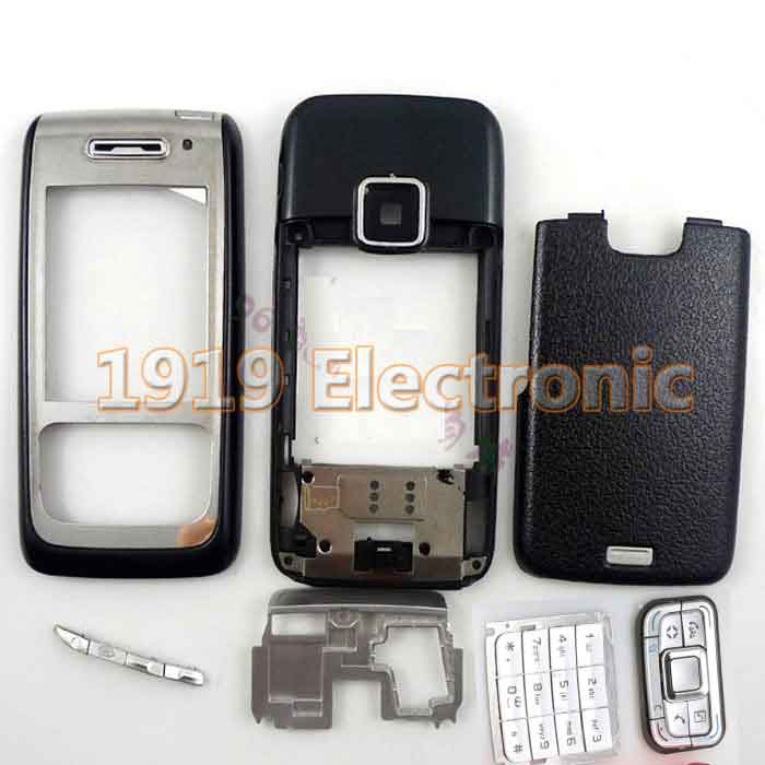 Case Nokia E65 Mobile-Phone-Housing-Cover New Keypad Or Enlish Full-Complete