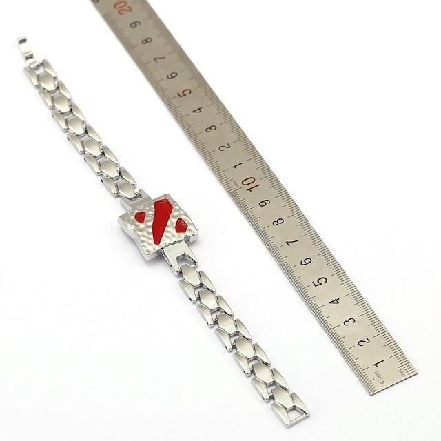 DOTA 2 Bracelet Hot Game Chain Link Charm Bracelets Bangle Cosplay Jewelry Men Women pulseira masculina