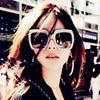 CURTAIN Oculos Feminino Spectacles Trendy Big Imitation Diamond Sunglasses Square Fashion Street Shot Personality Sun Glasses  2
