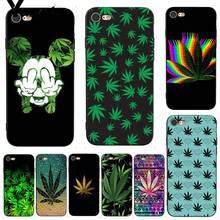 Yinuoda For iphone 7 6 X Case Abstractionism Art High Weed Coque Shell Print Phone Case for iPhone 7 X 6 6S 8 Plus 5 5S SE 5C чехол с новогодним принтом для iphone 5c 5 5s se 6 6s 7 plus 8 x