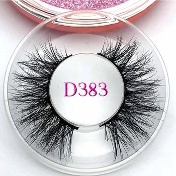 Mikiwi D383 3D Mink Eyelashes GB Popular Long Thick 3d Mink Lashes Maquiagem Makeup False Eyelashes wholesale eyelashes 10 pairs 3d mink eyelashes handmade thick false eyelashes makeup eye lashes mink