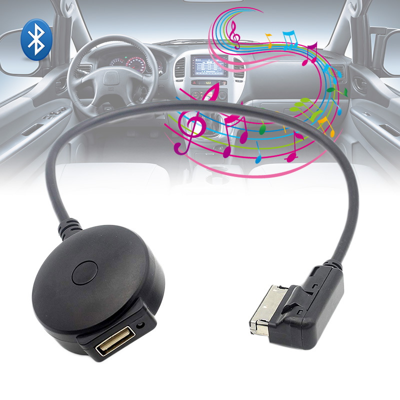 Wireless Bluetooth Adapter Cable For Audi And Volkswagen: New Wireless Bluetooth Interface Music Adapter Cable USB