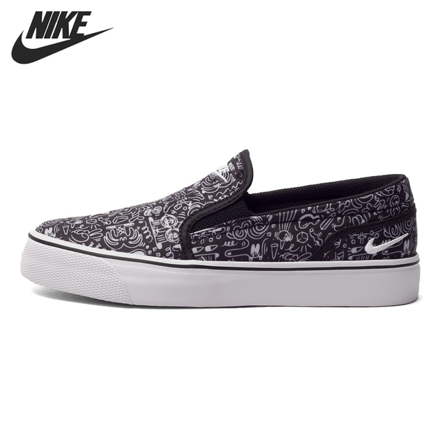 Nike Just do it Original NIKE TOKI SLIP PRINT Women's Skateboarding Shoes Sneakers