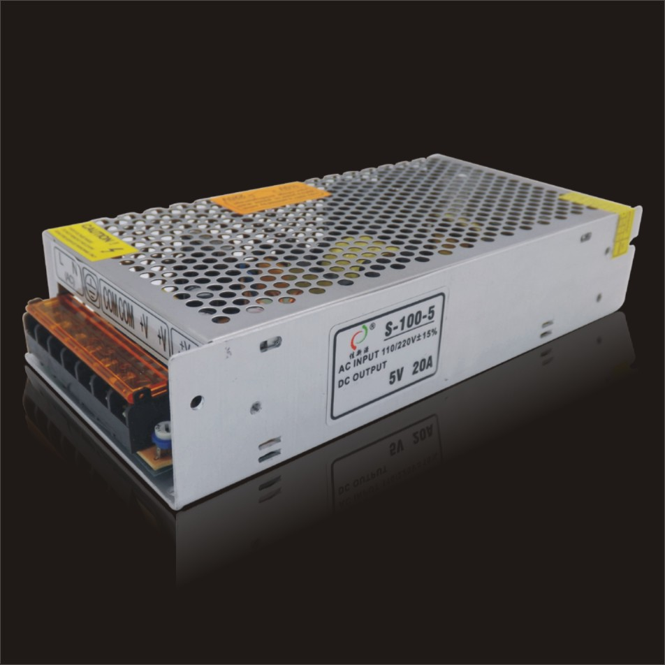 5v20a 100w Led Power Supply Smps Switch Mode For Electronic Which Is Switched Based Lighting Ce Standard Quality In Switching From Home Improvement On