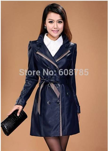 Motorcycle Leather Jackets For Women Sheepskin Genuine Leather Jacket Long Leather Jacket Woman Plus size 5XL Freeshipping D1830