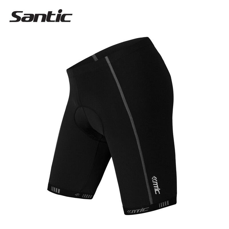 Цена за SANTIC ST POWER Coolmax Площадку С Задний Карман Мужчины женщины Мужская Велосипед Велоспорт Цикл Открытый Спортивная Шорты Общие