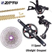 ZTTO Ultralight 11 Speed Groupset Derailleur Shifter Crankset Gold Chain 11-46T Silver Cassette  Group Set VS M8000 M7000 nx bicycle derailleur bicycles groupset group set 1x11 speed 11 speed bicycle parts mtb group set mountainbike groupset