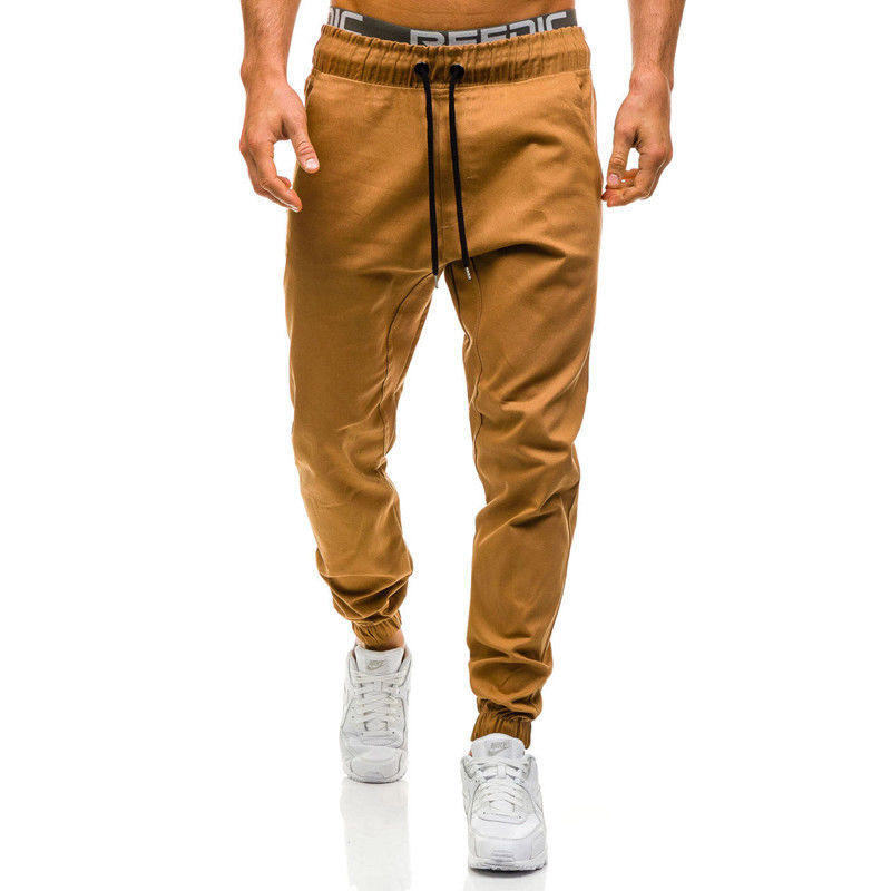 4colors Jogger Pants Men Fitness Bodybuilding Pants For Man Workout Sweatpants Autumn Spring Sweat Trousers Plus Size XXL