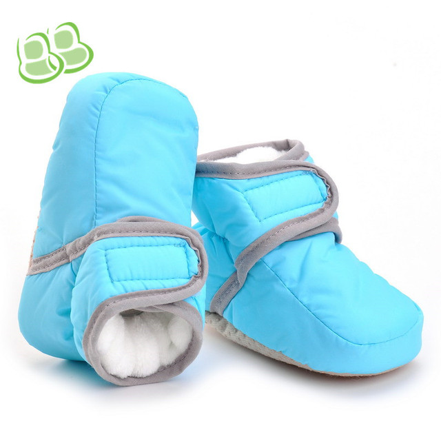 Winter Warm Handsome Baby Boots For Girls and Boys Newborn First Walker  Sweet Kids Booty Toddler Infant Baby Shoes Babe Booties 471e71758ec6