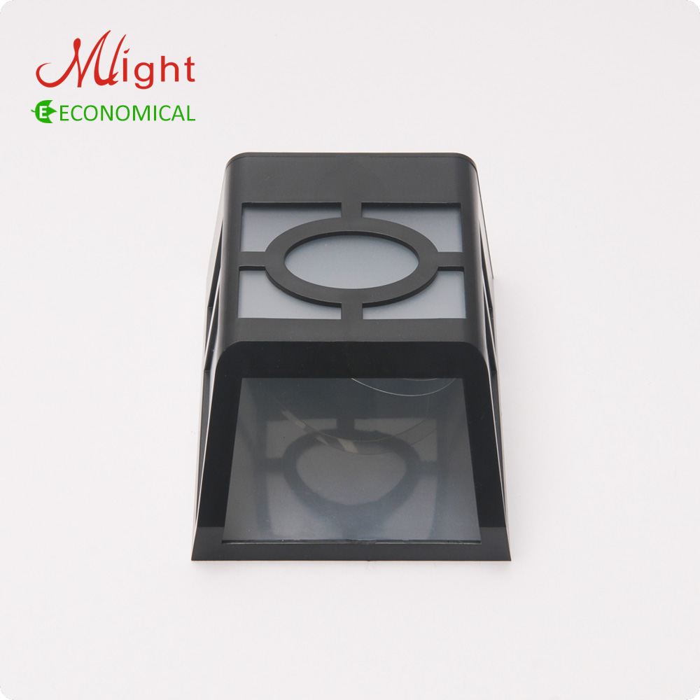 Extérieure LED Mur Lampe Clôture Lampe Solaire Alimenté Rechargeable ...