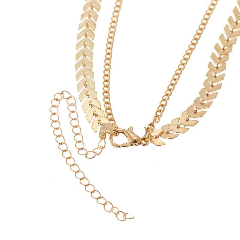 RscvonM 新ファッション珍味ゴールド/シルバースパンコールチョーカーリトルチャームペンダント 2 レイヤーチョーカーネックレス女性のドロップ配送について