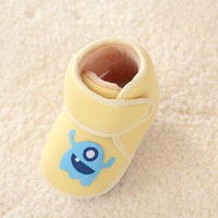 2016 Lovely Newborn Baby Shoes Infant Shoes Winter Soft Bottom Non Slip Toddler Shoes First Walker