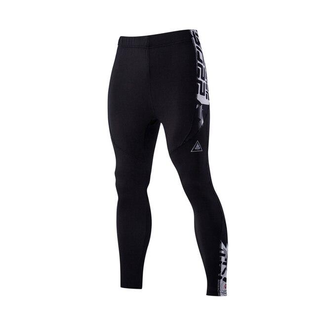 2016 nuevas llegadas de los hombres sencillos pantalones de las medias de la aptitud sudor pantalones arriba elástico M-XXL CYG131