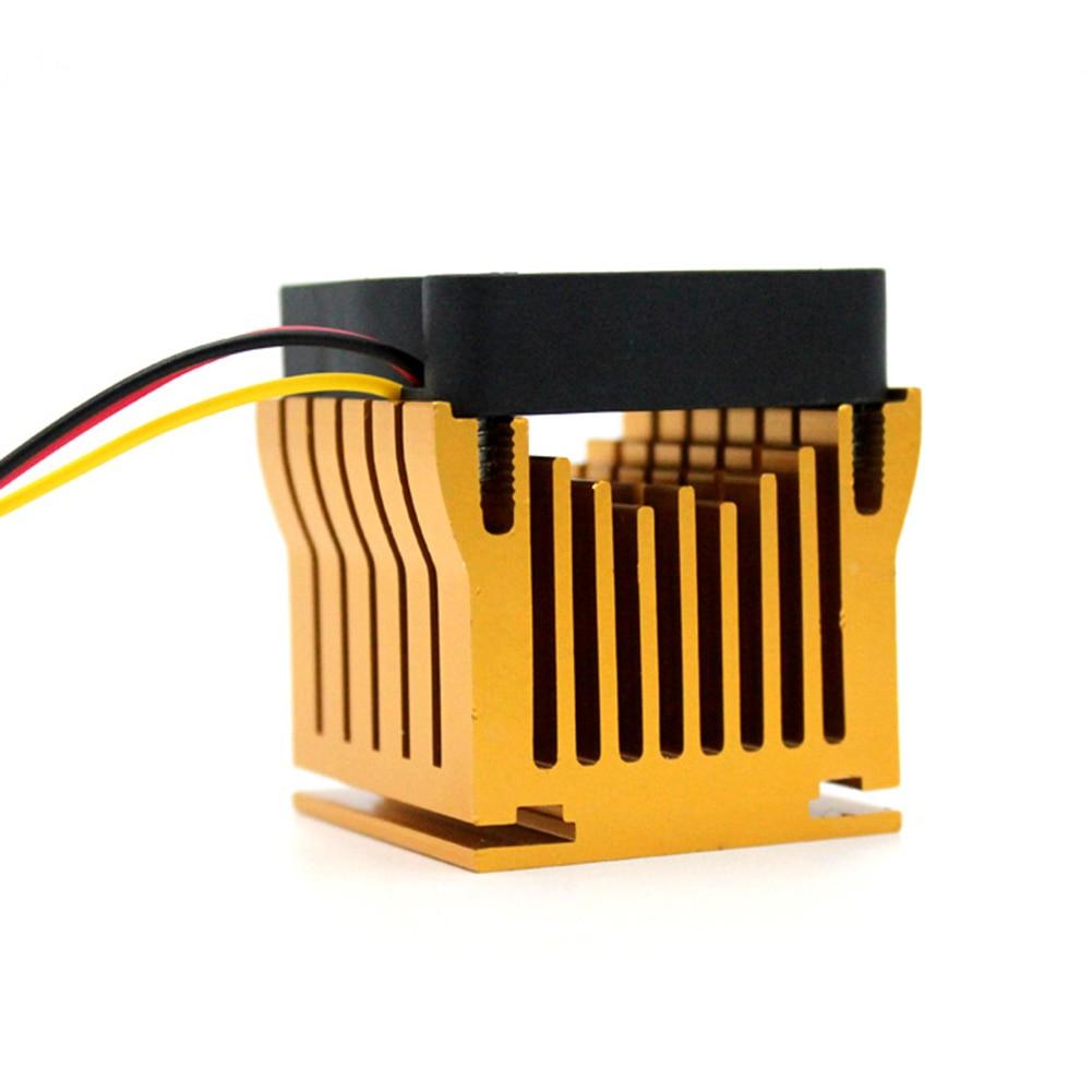 Image 2 - Кубический Алюминиевый ПК чипсет Охлаждающий радиатор бесшумный компьютер радиатор кулер вентилятор система процессора радиатор Бесщеточный вентилятор охлаждения-in Вентиляторы и охлаждение from Компьютер и офис on AliExpress - 11.11_Double 11_Singles' Day