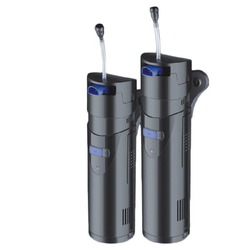 700L/h SUNSUN GRECH CUP-809 tout en un Aquarium UV stérilisateur réservoir de poisson Submersible filtre à eau pompe à oxygène pompe à Air filtre UVC