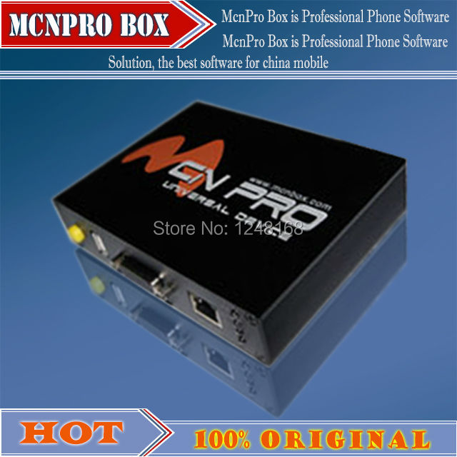 100%original new McnPro Box is Professional Phone Software Solution, the best software for china mobile