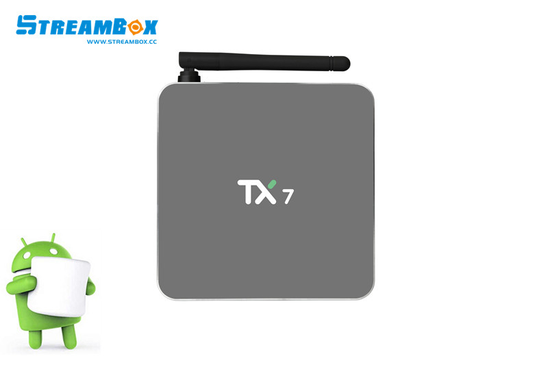 Amlogic S905X  TX7 android tv box  2g+32g android 6.0  TV BOX Kodi 16.1 tv box  google play store app download askent s 7 1 tx