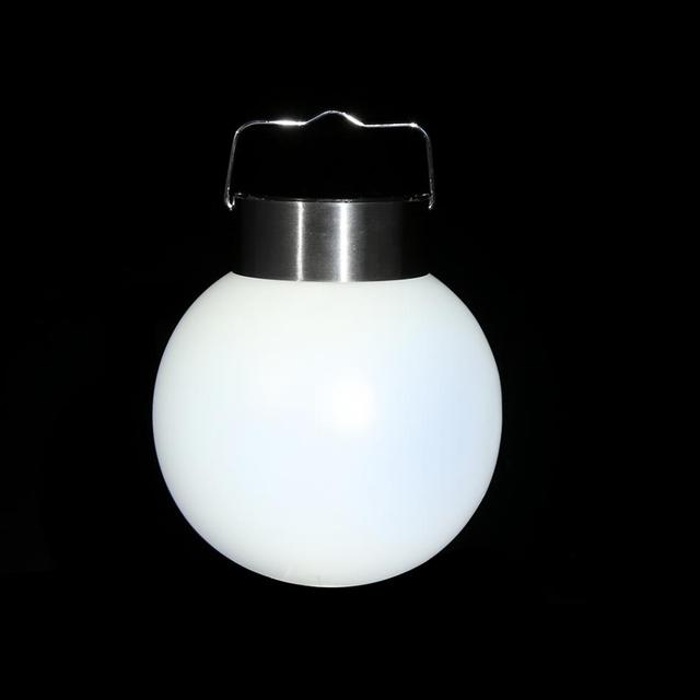 Forme de boule Solaire Lumi¨re Lampe LED Rechargeable Jardin Lumi¨re