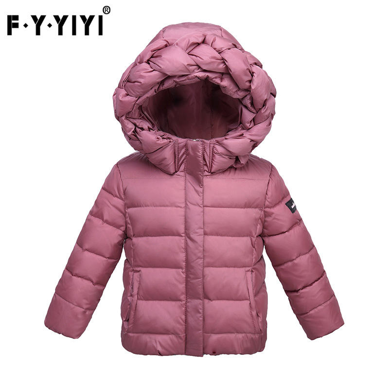 Winter new children's down jacket 2 to 7 years old children's clothes down jacket for girls girls coats and jackets