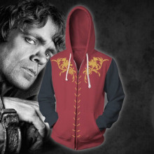Game of Thrones Cosplay Costume Movie TV Hoodie Sweatshirts Men Clothing Zipper New