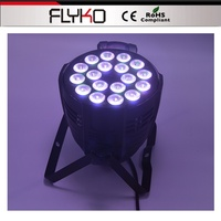 Free shipping professional lighting mini projector 18*10W/18*12W led par light DMX512