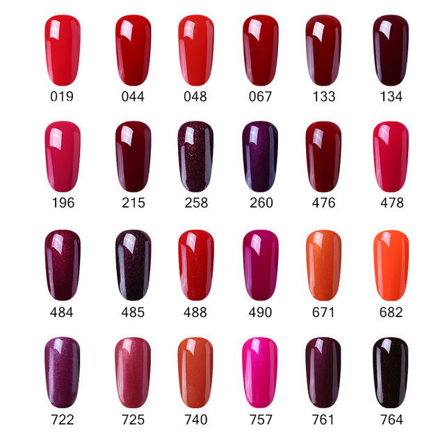 Elite99 15ml Wein Rot Farbe Gel Polish Long Lasting Gel Nagellack Tränken Weg Vom UV LED Gel Lacke DIY nail art Design Polnischen Gel