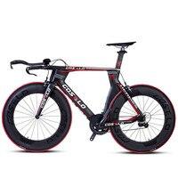 Ultralight full carbon fiber road bike cycling bikes wind TT bike road bicycle Lightweight body racing Aerodynamic bicycle