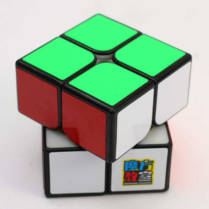 Original Moyu Mofangjiaoshi MF2S 2x2x2 Speed Cube 5.0cm Professional 2x2 Magic Cube Puzzle 50mm Educational Toys