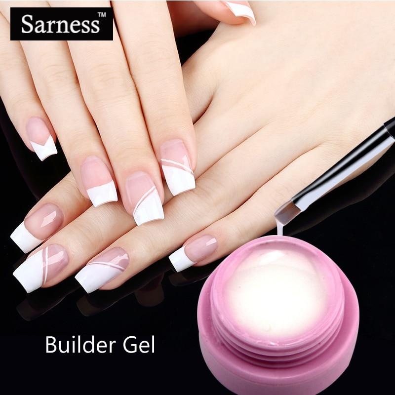 Saroline Builder Gel 3 Color Finger Nail Extension UV Gel ...