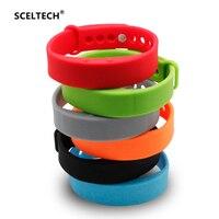 SCELTECH Smart Wristband W5 Smart Bracelet Pedometer Sleep Tracker Thermometer Smart Band Fitness Tracker Smart Watch