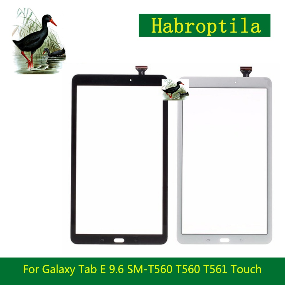 9.6 For Samsung Galaxy Tab E 9.6 SM-T560 T560 T561 Touch Screen Tablet Digitizer Sensor Front Outer Glass Lens Panel