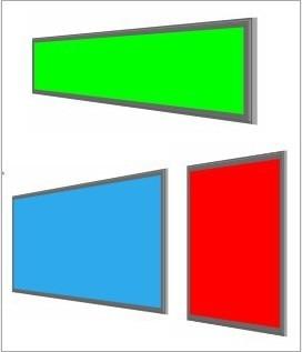 colorido mutável regulável rgb conduziu a luz do painel
