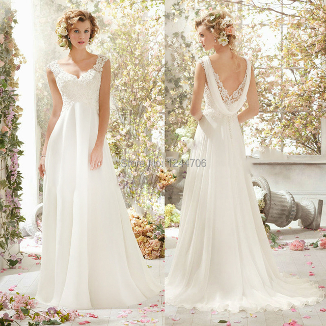 Simple But Elegant Wedding Dress: 2014 New Arrive Simple But Elegant Romantic Taut Fashion