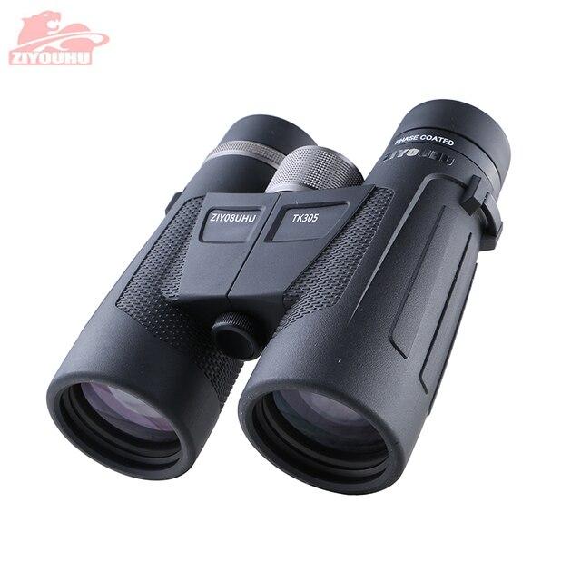 Nowa lornetka myśliwska HD 8/10X32/42 powiększenie powiększenia wodoodporny poziom słabego oświetlenia Night Vision BAK4 Prism teleskop obuoczny