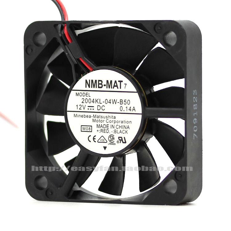 NEW NMB-MAT Minebea 04KL-04W-B59/B50 5010 5CM Double Ball bearing cooling fan