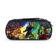 купить Avengers Iron Man Hulk Thor Boy Cartoon Pencil Case School Children Student Pen Bag Kids girls anime Large Capacity Purse Wallet дешево